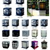 恒运路灯厂 户外工程照明墙头灯系列
