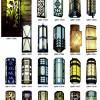 恒运路灯厂 户外工程照明墙壁灯系列