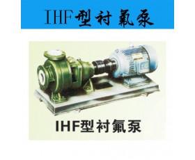 供应IHF型衬氟泵