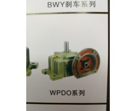 减速机WPDO系列