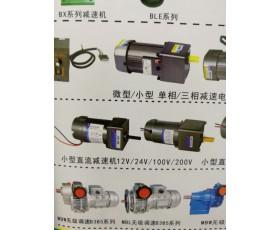 小型直流减速机12V/24V/100V/200V