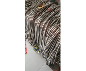淋浴喷头专用拉力管1.5米铜芯大双扣