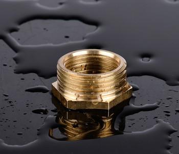 良顺全铜补心暖气片散热器专用 1寸变6分 6分变4分配件接头