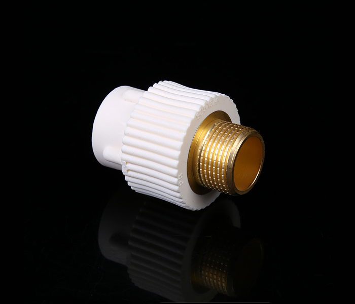 家装精品水管外丝直接20*1/2 PB管直接头外丝聚丁烯pb管件