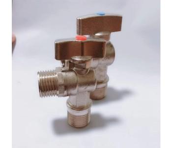 4分6分全铜燃气专用三角阀 1/2煤气角阀