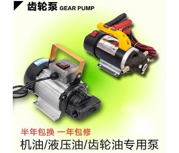 自吸齿轮油泵 高粘度抽油泵电动抽油泵机油 液压油泵