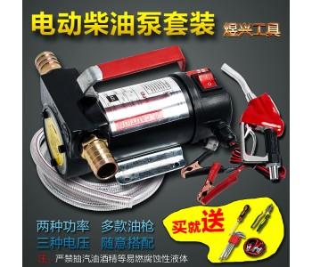 电动抽油泵12V/24V/220V柴油加油泵