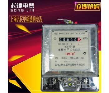 【厂家现货】家用透明单相精准电表电度表 家用电表批发