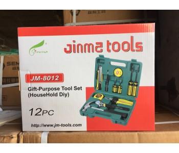 家用工具箱多功能维修工具五金工具组套套装组合JM-8012