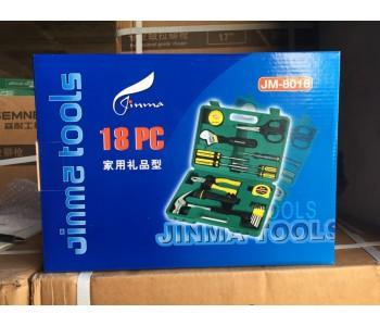 家用工具箱多功能维修工具五金工具组套套装组合JM-8022