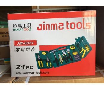 家用工具箱多功能维修工具五金工具组套套装组合JM-8021