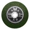 100超薄绿色双网树脂切割片金属不锈钢砂轮片