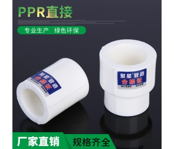PPR等径直接 4分6分大小头异径水暖管件接头配件批发