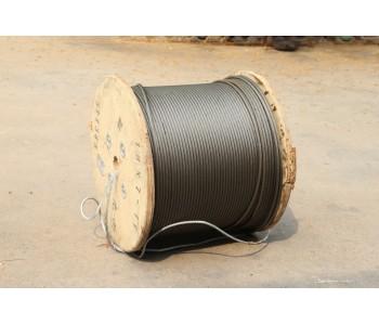 【厂家直销】狼山 巨力 起重光面带油钢丝绳