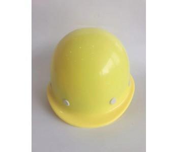 嘉运PE材质圆形盔式透气孔工程帽建筑工地警示防尘帽厂家直销