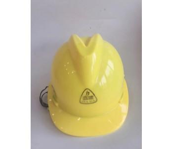 嘉达ABS工程帽透气型V型帽工地警示防尘