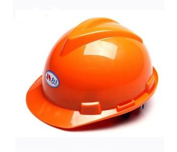 V型ABS卷边安全帽防砸保护减震安全帽