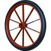 10斤板圈振牛实心轮力车轮