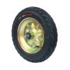 300-8镀彩振牛轮毂胶澳轮胎工矿轮充气轮